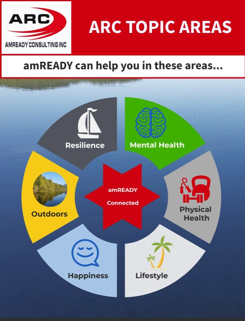 The topic areas covered by amREADY Consulting